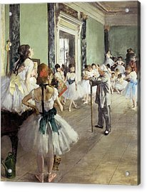 Degas, Edgar 1834-1917. The Dancing Acrylic Print by Everett