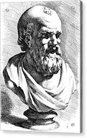 Democritus (c460-c370 B Acrylic Print
