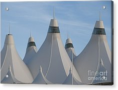 Denver International Airport Acrylic Print by Juli Scalzi
