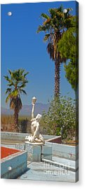 Desert Oasis Acrylic Print by Gregory Dyer