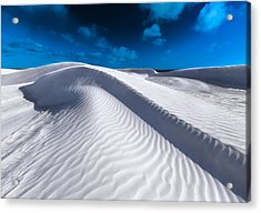 Desert Sands Acrylic Print