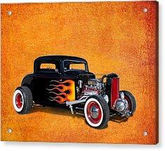 Deuce Coupe 1932 Ford Acrylic Print by Robert Jensen