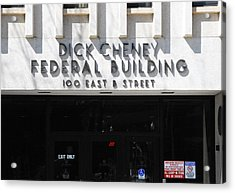 Dick Cheney Federal Bldg. Acrylic Print