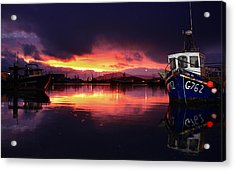Dingle Harbour Sunset Acrylic Print