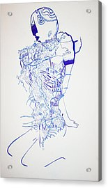 Dinka Motherhood - South Sudan Acrylic Print by Gloria Ssali