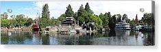 Disneyland Park Anaheim - 12121 Acrylic Print by DC Photographer