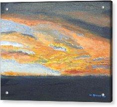 Dixie Sunrise Acrylic Print