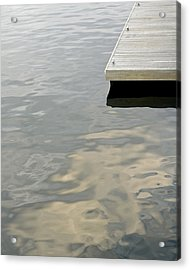 Dock Acrylic Print by Stuart Hicks