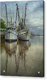 Acrylic Print featuring the photograph Docked by Priscilla Burgers