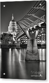 Dome And Bridge Acrylic Print by Rod McLean