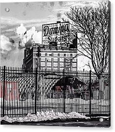 Domino Sugars Acrylic Print by Toni Martsoukos