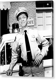 Don Knotts In The Andy Griffith Show  Acrylic Print
