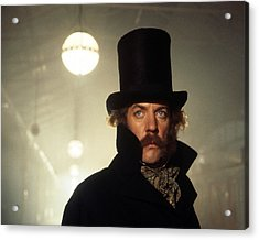 Donald Sutherland In The First Great Train Robbery  Acrylic Print by Silver Screen