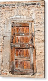 Door Series 1 Acrylic Print by Minnie Lippiatt