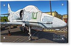Douglas Skyhawk A-4f Acrylic Print by Gregory Dyer