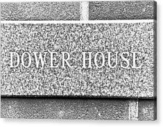 Dower House Acrylic Print