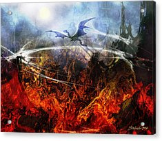 Dragon's Dawn Acrylic Print