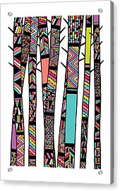 Dream Forest Acrylic Print by Susan Claire