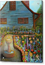 Dream Garden Acrylic Print