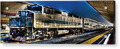 Dream Station Acrylic Print by Andrew Raby