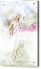 Dreamy Enchanted Forest Dancer Acrylic Print by Jorgo Photography - Wall Art Gallery