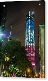 Dressed For The 4th Of July Acrylic Print by Theodore Jones