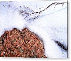 Drifting Acrylic Print by Tom Druin