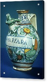 Drug Jar Acrylic Print by Science Photo Library