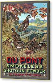 Du Pont Smokeless Acrylic Print
