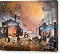 Dudleys By Gone Days Acrylic Print