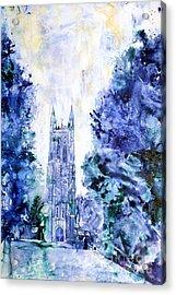Duke Chapel Acrylic Print