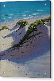 Dune Shadows Acrylic Print by Graham Gercken