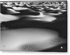 Dunes Death Valley Acrylic Print by Hugh Smith