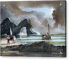 Durdle Door - Dorset Acrylic Print