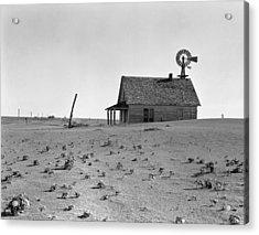 Dust Bowl, 1938 Acrylic Print