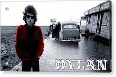 Bob Dylan Acrylic Print by Marvin Blaine
