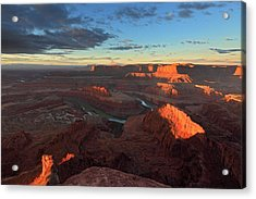 Early Morning At Dead Horse Point Acrylic Print