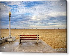 Early Morning At The Beach Acrylic Print