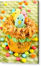 Easter Cupcakes  Acrylic Print by Iris Richardson