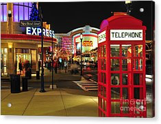 D65l-162 Easton Town Center Photo Acrylic Print