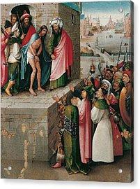 Ecce Homo Acrylic Print by Hieronymus Bosch