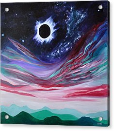 Eclipse IIi Acrylic Print by Cedar Lee