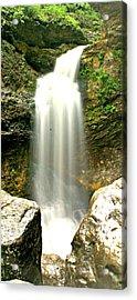 Eden Falls Tall Acrylic Print by Marty Koch