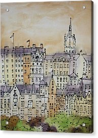 Edinburgh Scotland Acrylic Print