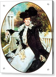 Edith Roosevelt, First Lady Acrylic Print by Science Source