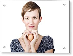 Eggs And Heart Health Acrylic Print by Jorgo Photography - Wall Art Gallery