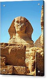 Egypt, Cairo, Giza, The Sphinx Acrylic Print by Miva Stock