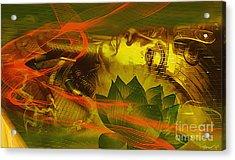 Egyptian Pharaoh Acrylic Print