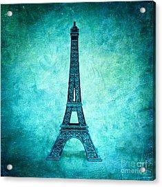 Eiffel Tower Acrylic Print by Bernard Jaubert