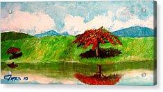 El Lago Acrylic Print